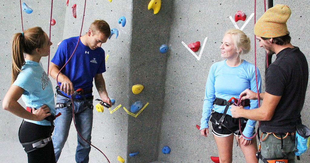 Perfecting the climbing wall experience