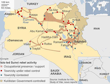 At Issue: Airstrikes in Syria, Iraq – The Antelope