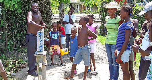 Newman Center Raises Funds for Safe Water in Haiti