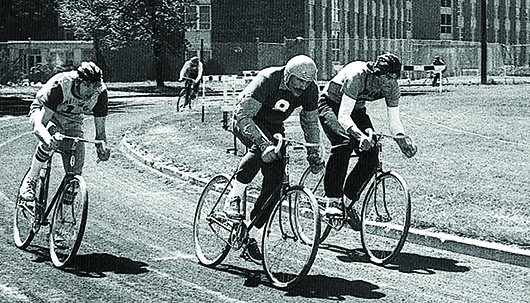 Courtesy The first Bike Bowl was hosted at Kearney State College in 1967.