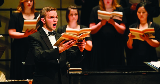 UNK Choirs presented Sunday concert