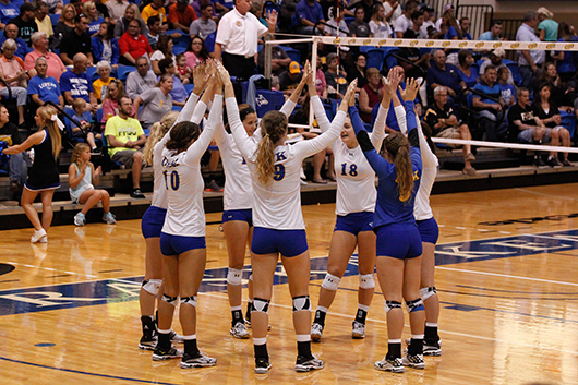 UNK volley ball team