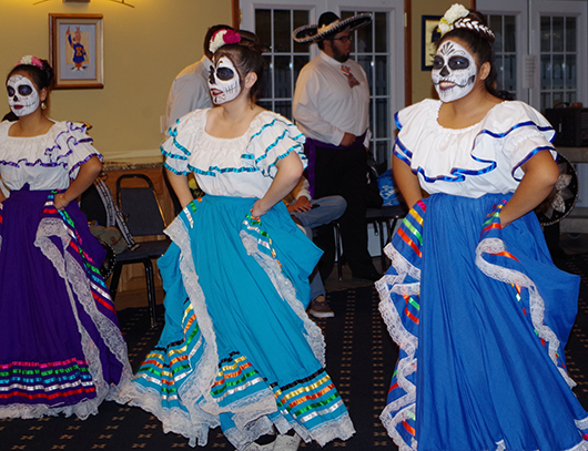 Sigma Lambda Beta puts on Day of the Dead celebration