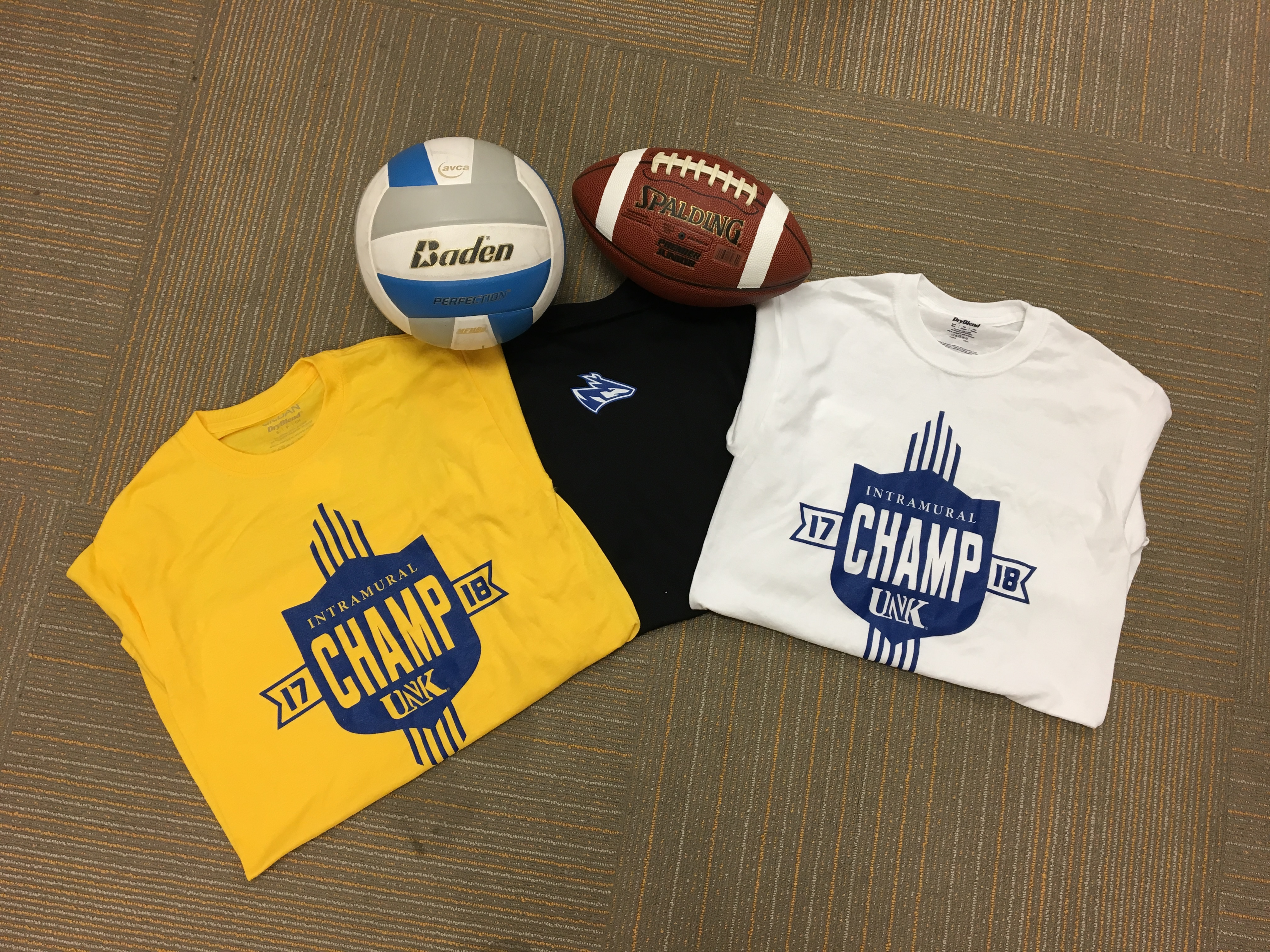 5f485ed97 Andrew Winscot, the new Campus Rec director, is excited to see students  sporting intramural champion T-shirts